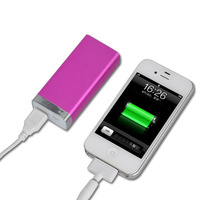 universal cell phone charger color travel charger external portable battery pack