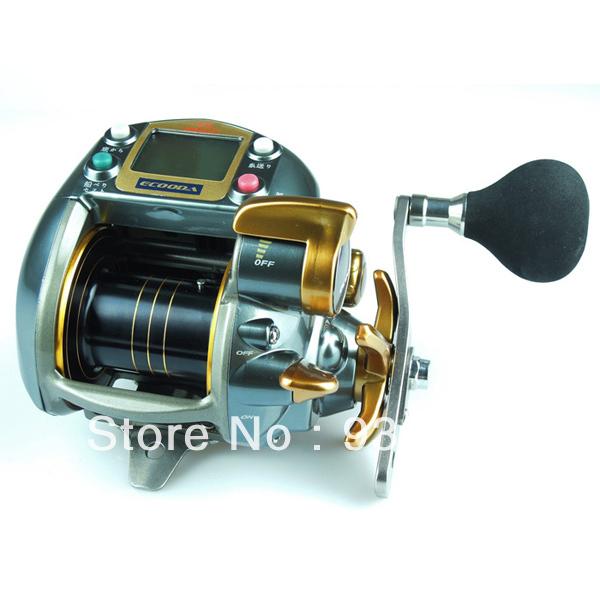 1 X HI POWER & SPEED Superior E-Boat Reel Electric Fishing Reel ECOODA DRAGON7000LB Orange Reels 2.8:1 Free Shipping(China (Mainland))