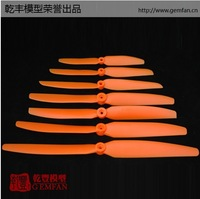 """Gemfan 6x3"""" or 5x3"""" 10pcs Orange Direct Drive Electric Propeller EP6030 EP5030 for RC Electric model aircraft + Free Shipping"""