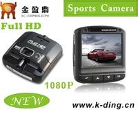 "Wide Angle Lens 1080P Full HD Video Kamera Waterproof Action Camera Color 2.4"" LCD Screen KD-AT820"