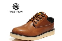 2014 New Arrival  Free Shipping Brand Leather Winter Men's Shoes Camel Man Sneakers Sports Shoes Hot Selling