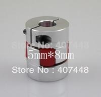 5X8mm CNC Flexible Jaw Spider Plum Coupling Shaft Coupler D25L30