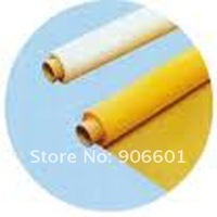 "80T 200mesh polyester printing screen mesh  80T-48  width:127cm (50""), yellow color and free shipping"