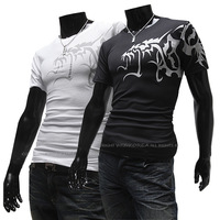 FREE SHIPPING,2013 Men's t shirts Top Brand ,Men's Slim Short-sleeve Round Neck T-shirt.#Z0038