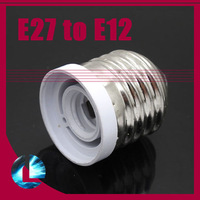 10pcs E27 to E12 Adapter converter For 110V 220V LED Halogen Bulb lamp light Socket Free shipping