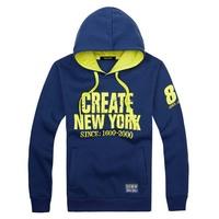 New 2013 Winter Hoodies Students Casual  Men's Hoodie Men's Cotton Big Size Sweatshirt Free Shipping  LLY11-04