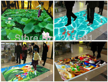 good price  interactive floor Projection system , and good technical support after sale, free shipping