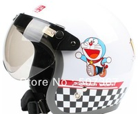 The original authorization doraemon jingle victory white BanKui electric motorcycle helmet