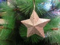 Christmas supplies christmas tree decoration five-pointed star
