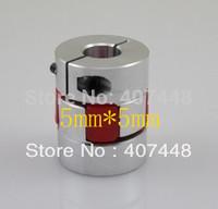 BF 5mm X 5mm CNC Flexible Plum Coupling Shaft Coupler D25L30