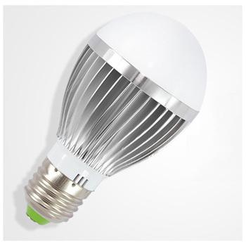 4PCS/lot 5W High Brightness E27 Base LED Bulb Warm white/White 85-265V LED Lamp Energy Saving Bulb Light Free shipping
