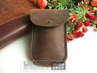 hot Classic Cowhide bag for mobile phone handbag for iphone bag smart waist bag