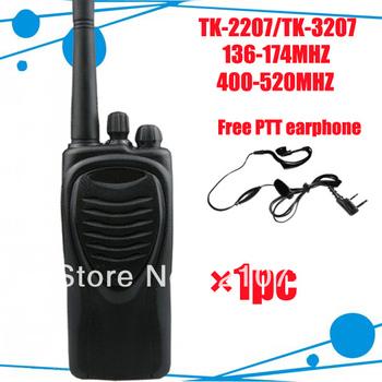 TK-2207 VHF Transceiver Radio DHL free shipping free PTT earpiece