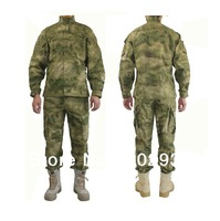 Camouflage training tactical clothing uniform  ghillie suit  camouflage net military clothing free shipping