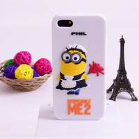 Mobile Phone Case with Despicable Me 3D Pattern for iPhone 4/4s 5