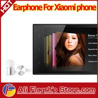 2014 hot sale 100% original Xiaomi mi3/m3/m2/mi2/m2s/m2a/m1 piston earphone metal stereo xiaomi red rice  laptop music earphones