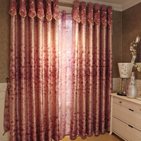 American bedroom curtain rustic dodechedron curtain cloth quality fashion dodechedron full yarn  A meter in width Free Shipping