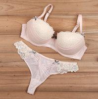 N090 vintage princess underwear women's bra plus size bra thick 75ce80cde85bc