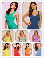 Free Shipping 30pcs Genie Bra Cami Shapers by Genie with Removable Pads inside as seen on tv sleeping camisole only 198usd