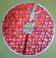 Christmas supplies christmas tree decoration quality gold velvet christmas tree skirt Christmas tree skirt