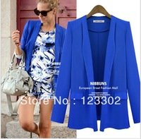 2013 hot stylish and comfortable women's Blazers Women' Jacket winter outwear Size S-XL Free shipping S0059