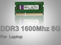 Memory DDR3 Ram 1600Mhz 8GB for Notebook/Laptops Sodimm Memoria Compatible with 1333Mhz 1066Mhz Support Dual Channel