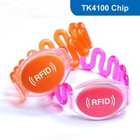 Waterproof Fashion rfid wristband, Frequency: 125KHz (LF), Waterproof RFID Wristband with TK4200 Chip,  TK4200  RFID bracelet