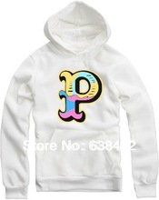 "Free shipping For height 70--150cm Kids hoodies hiphop clothes Letter ""P"" printed pink dolphin hoodie clothing 8 color(China (Mainland))"