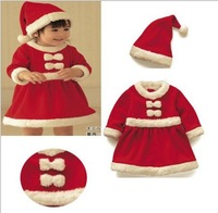 Christmas Costume,Baby Christmas Suits, Santa Baby Dress,Santa Claus Romper