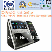 Free Shipping Elegant Ergonomic Design Face Recognition Support TCP/IP+RS232/485 and optional GPRS