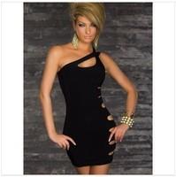 Latest! Nightclub Dress Women Sleeveless Sexy Mini Dress Fashion Dress Free Shipping