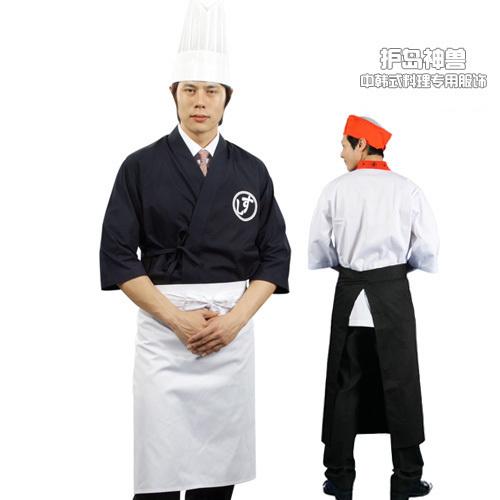 Ae19 fashion aprons chef apron work aprons half-length aprons(China (Mainland))