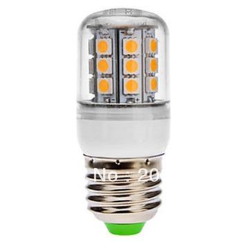 Free Shipping E27/E14 30 SMD 5050 LED LE074 Corn Light Warm/Cold White Spot Light 220-240V Covered