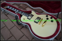 Wholesale - Best Custom Shop yellow top electric guitar Ebony fingerboard Gold hardware