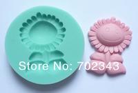 Silicone Mold Soap Clay Sugarcraft Decorating Fondant Sunflower Shape