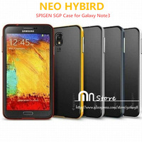 2014 New SPIGEN SGP NEO HYBIRD Case For Samsung Galaxy Note 3 High Quality PC + TPU For Samsung Galaxy Note 3 N9000 Case
