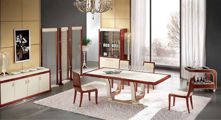 Muebles italianos de dise o hogar mesa de comedor con - Muebles de comedor de diseno ...