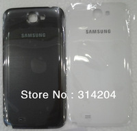 100% Top Quality Guarantee for Samsung N7100 Galaxy Note 2 Battery Back Cover Housing Black White by AM DHL EMS(1PC)