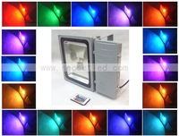 Free shipping 1pcs/lot waterproof outdoor 100 watt led flood light in white/warm white/rgb/red/green/blue/yellow +DHL Free