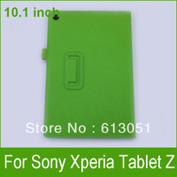1PC Lichi PU Leather Case for Sony Xperia Tablet Z 10.1 Stand Case Cover Free Shipping
