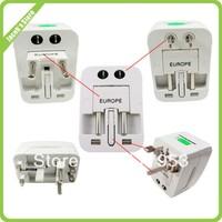global travel transform plug, All in One Universal Travel Wall Charger,AC Power Adapter Converter AU/UK/US/EU Plug 10pcs/lot
