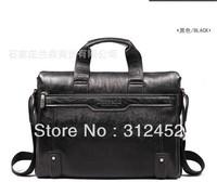 Hot sale!!  New Genuine Leather Men Bag Briefcase Handbag Men Shoulder Bags Laptop Bag,free shipping