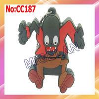 Wholesale Cartoon BUNGEE ZOMBIE usb flash Memory pen drive Sticks 1GB 2GB 4GB 8GB 16GB 32GB  64G with chain,pendrive 64GB #CC187