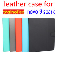 New high quality solid luxury ultra-thin Anti-skid Stand flip business leather cover case for Ainol Novo 9 Spark  Quad Core