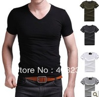 New arrive men t shirts fashion short sleeve men's clothing summer adults' tops blouse fitness shirts free shipping