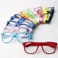 Glasses frame lens glasses Men and women retro frames eyeglasses frame glasses frame plain mirror many color