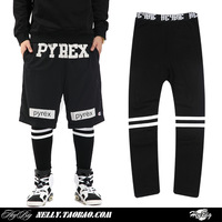 Zipper gd stripe skateboard HARAJUKU legging pyrex yeezy gd