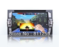 Free shipping 3G wifi Android 2 din car dvd player with free map free wifi adapter +free ccd rear camera
