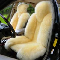 2013 car seat winter wool cushion sheepskin cushion thermal plush car cushion general seat