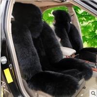 Car seat cushion seat winter pulvinis pure wool cushion plush car cushion full sheepskin plush